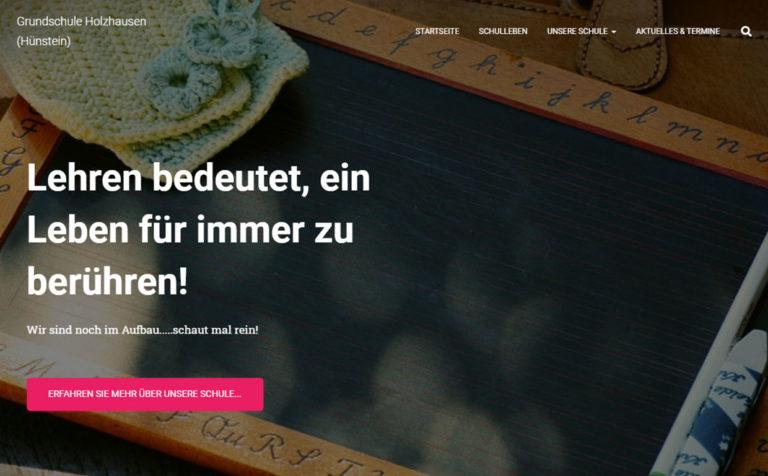 Grundschule Holzhausen - Webseite