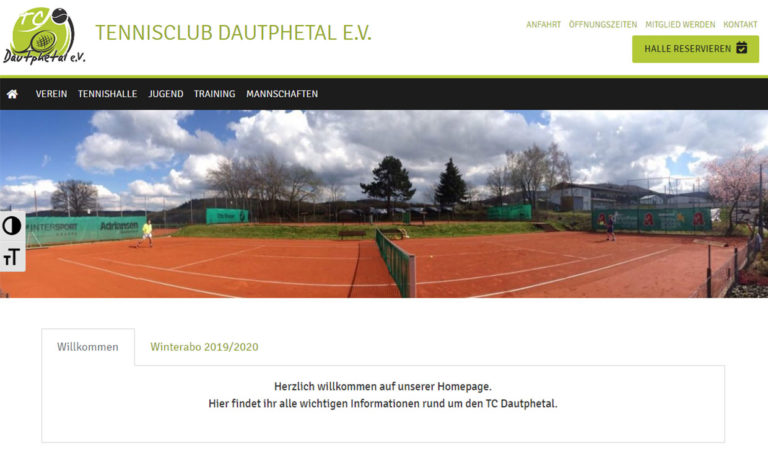 TC Dautphetal - Webseite